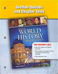 Section Quizzes And Chapter Tests Glencoe World History
