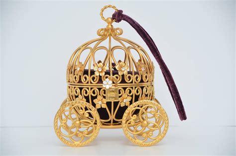 Bag Charm Cinderella dolce and gabbana cinderella carriage handbag minaudi 232 re limited only 40 made for sale at 1stdibs