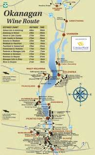 wine highway map sommelier emily walker s south okanagan wine tour