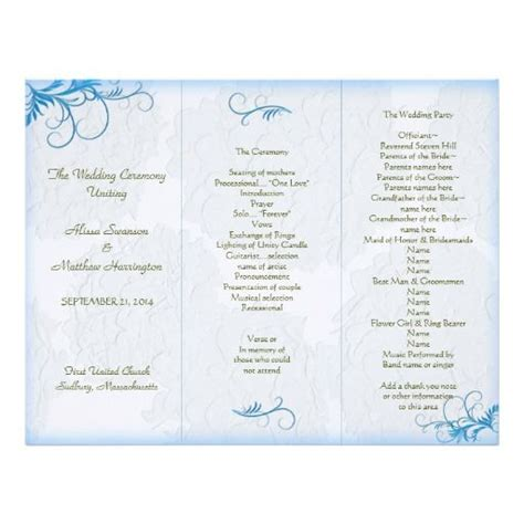 Wedding Programs Templates Tri Fold Www Pixshark Com Images Galleries With A Bite Free Printable Program Templates For Church