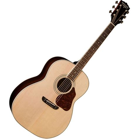 Jumbo D washburn lsj743sk lakeside series jumbo acoustic at gear4music