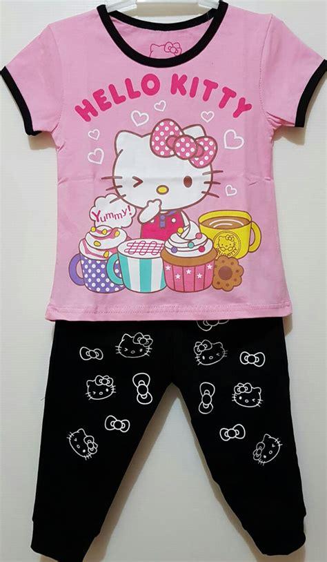 Setelan Baju Anak Caty Pink setelan 7 8 hello lunch pink 1 6 disney grosir