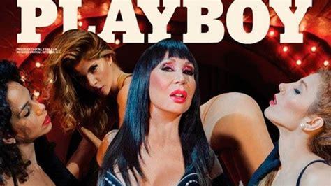 fotos de la revista playboy mayo de 2016 moria cas 225 n otra vez en la tapa de la revista playboy