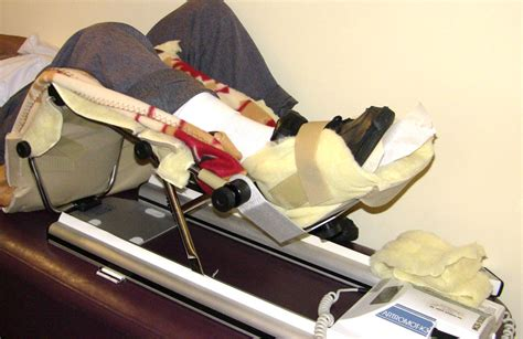 Physical Therapy Bench Passive Range Of Motion Rom Exercise