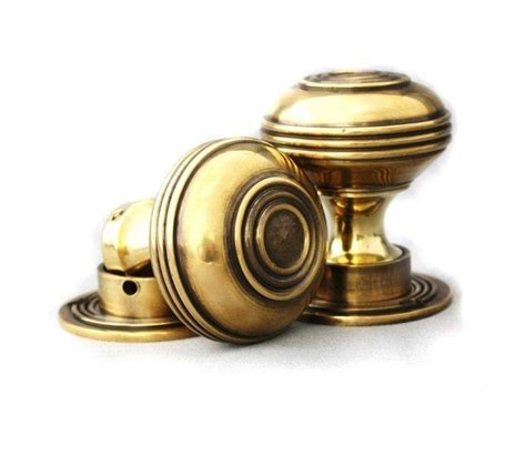 Period Door Knobs by Period Solid Brass Bloxwich Door Knob Large