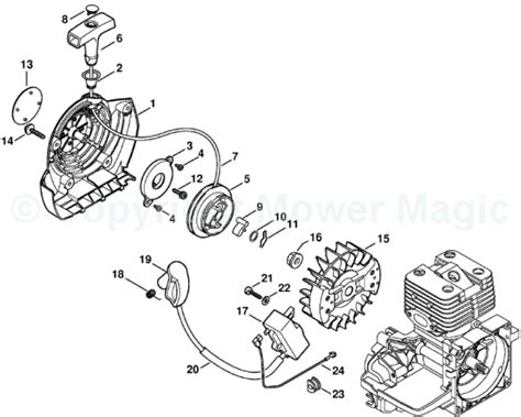 stihl ms250 parts diagram stihl ms 250 parts list car interior design