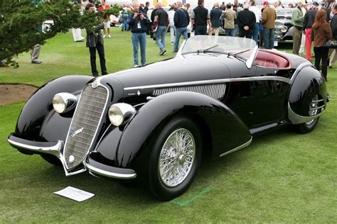 alfa romeo   corto touring spider images specifications  information