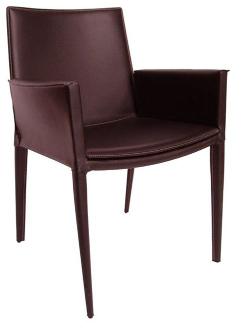 Black Leather Dining Room Chairs With Arms Soho Black Leather Dining Arm Chair With Low