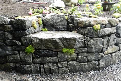 Landscape Rock Albany Oregon Rock Seat Walls Eugene Landscape Design Graham