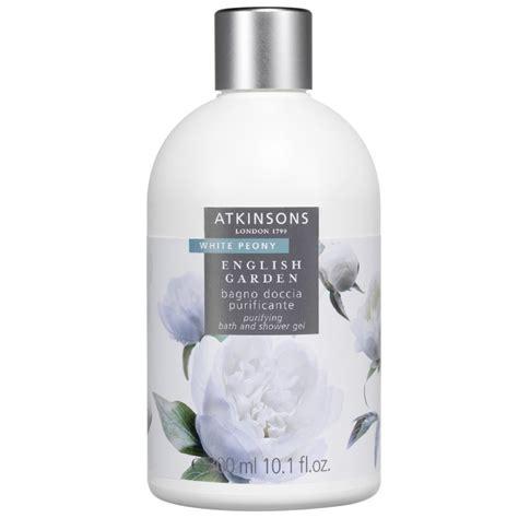 shower gel bath white peony purifying bath and shower gel white peony 187 garden atkinsons
