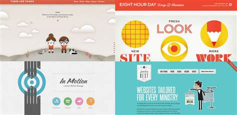 design web layout illustrator 40 beautifully illustrated websites go media