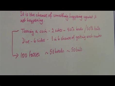 Math Homework Help With Probability by Understanding Math Probability Math Homework Help
