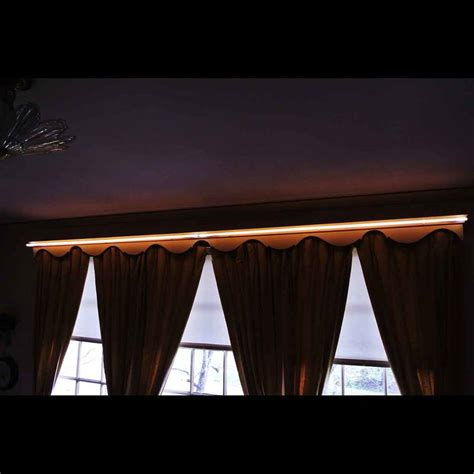 Valance Lighting Fixtures Interior Decor And Chandeliers Barton Neon Magic