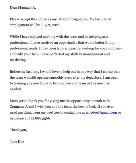 Thank You Letter Lack Of Experience 25 Best Ideas About Professional Resignation Letter On Resignation Letter