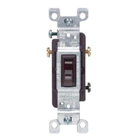 leviton 15 3 way toggle switch brown r59 01453 002