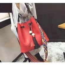 Faux Leather Tasseled Shoulder Bag women s messenger bags yesstyle
