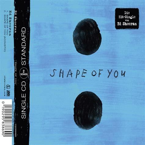 Maxy You ed sheeran shape of you 2 track cd maxi asylum records
