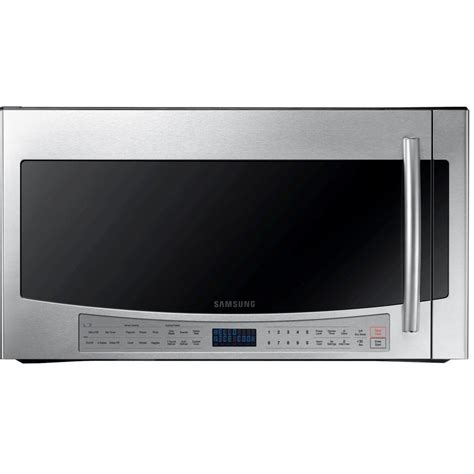 samsung 30 in 2 1 cu ft the range microwave in