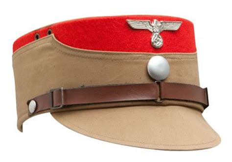 WW2 German SA Stormtrooper Kepi   Reproduction WW1 and WW2 German and British uniforms for hire