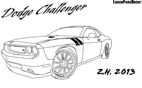 dodge challenger by linkinparkbrony on deviantart