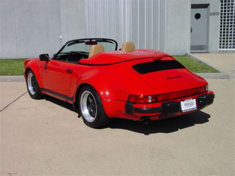 1989 porsche speedster for sale porsche 911 sally carrera from cars comes to australia car