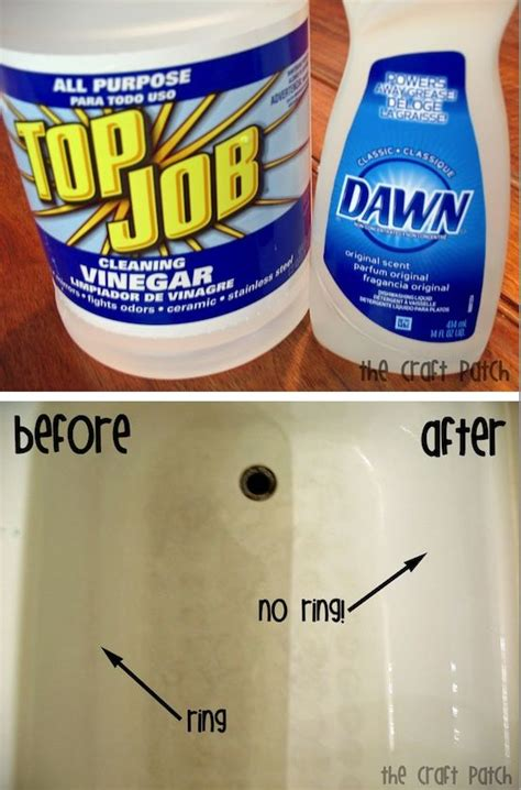 Clean Bathtub With Vinegar And Dish Soap by 55 Must Read Cleaning Tips And Tricks With Pictures