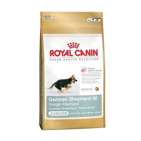 royal canin german shepherd puppy food buy royal canin german shepherd junior 30 food 12kg