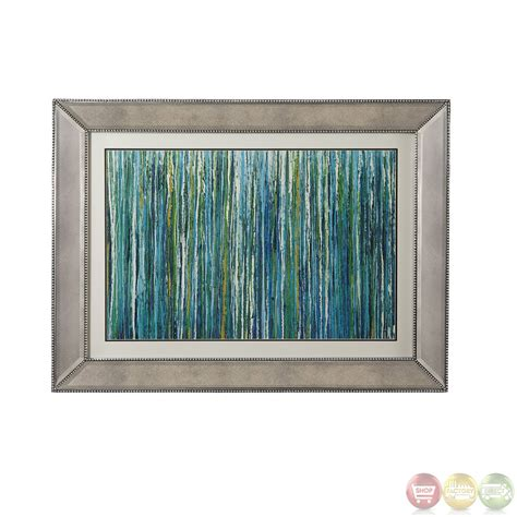 framed abstract greencicles abstract contemporary framed 9900 134ec