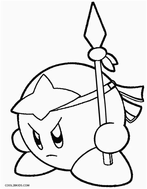 printable coloring pages kirby kirby free colouring pages