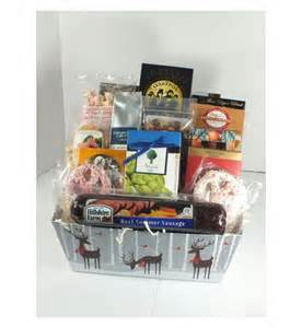 sausage and cheese gift baskets sausage and cheese basket gift 1068 deschutes gift baskets