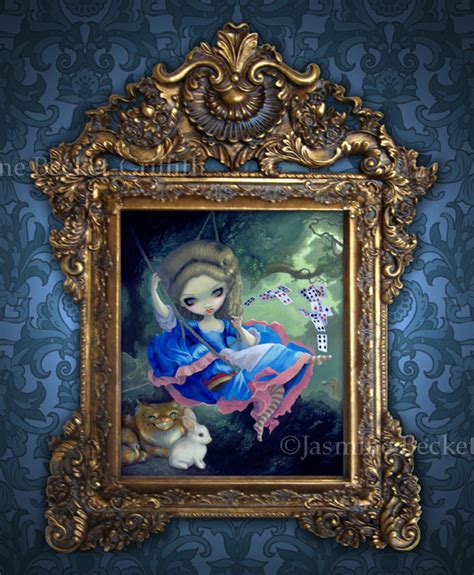 rococo art the swing strangeling the art of jasmine becket griffith jasmine s