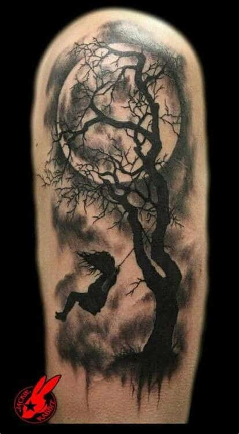 tattoo girl on swing tree tattoos for men ideas and designs for guys