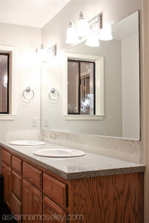 Bathroom Mirror Makeover by Bathroom Mirror Makeover With Mirrormate Ask
