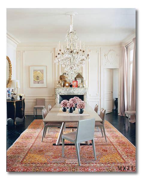 Parisian Dining Room by Lwren Dining Room Vogue Web Fieldstone Hill