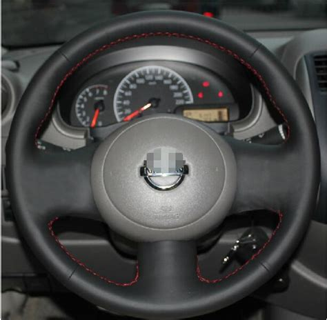 Cover F New Nissan March for nissan march new steering wheel cover
