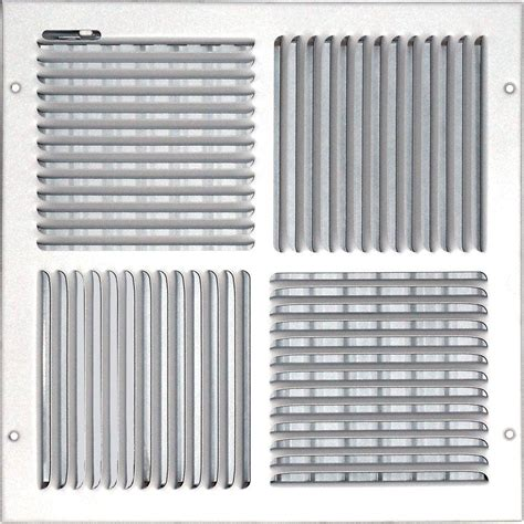 Ceiling Air Vents Home Depot by Speedi Grille 14 In X 14 In Ceiling Sidewall Vent