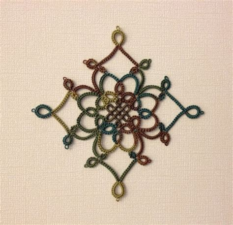 snowflake medallion pattern tatting by the bay free patterns
