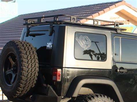 Jeep Jk Roof Rack Smittybilt 45454 Defender Roof Rack For 07 17 Jeep