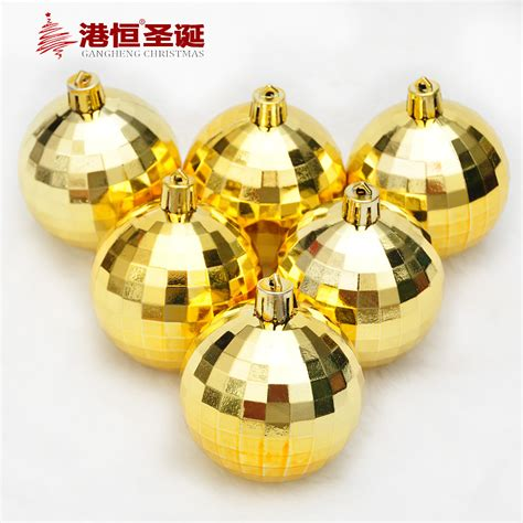 aliexpress com buy 6pcs gold christmas tree hanging