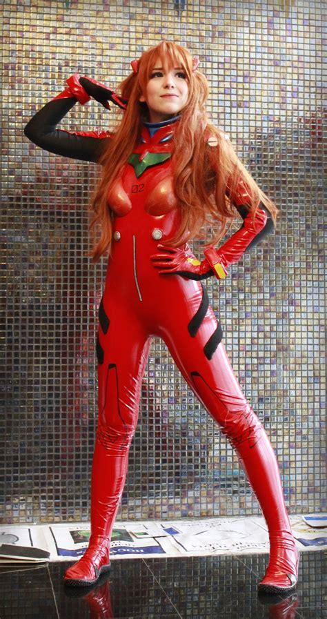 asuka langley plug suit cosplay neon genesis evangelion asuka langley cosplay by