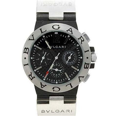 replica watches bvlgari aluminium chronograph bvlgari diagono aluminium chronograph with