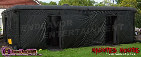 inflatable haunted house syracuse cny inflatable haunted house rental