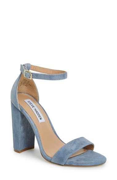 steve madden carrson sandal in blue lyst