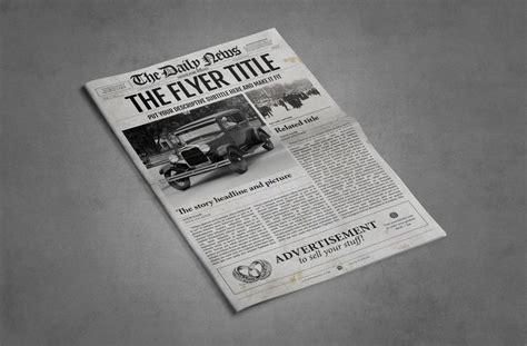 adobe illustrator newspaper template 1 page ledger size newspaper template for adobe