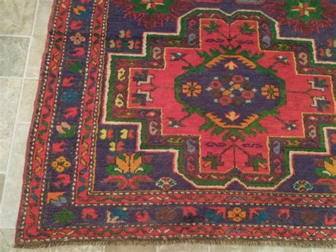 clearance runner rugs purple blue 4 x 8 area rugs original kazak runner clearance handmade wool rug ebay