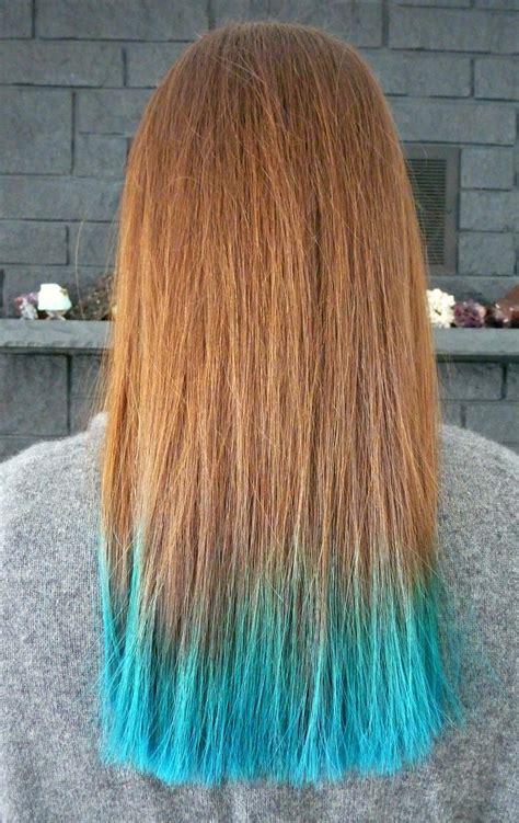 fur dye two years of turquoise dip dyed hair rainbow hair faq plus my new haircut