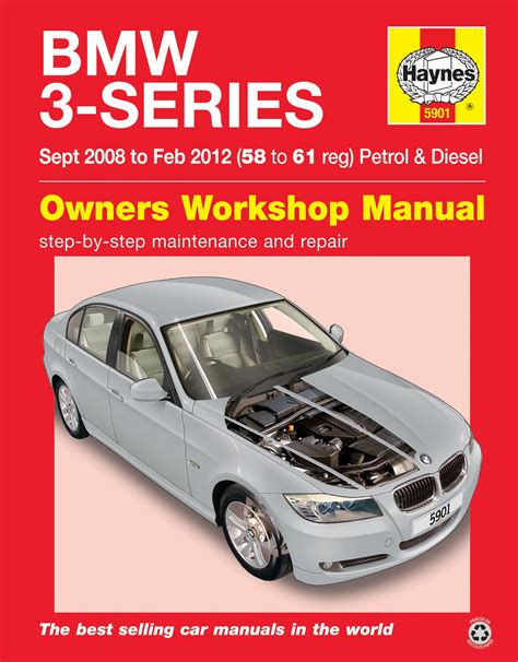 haynes owners workshop car manual bmw 3 5 series haynes 5901 owners workshop bmw 3 series 08 12 58 61 repair manual guide
