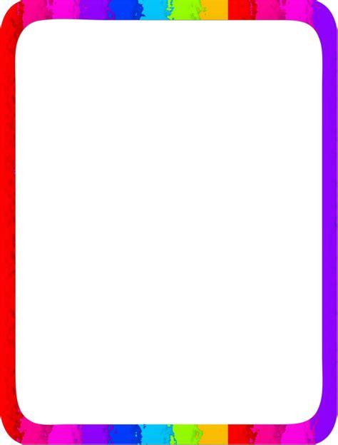 border clip rainbow border clipart best