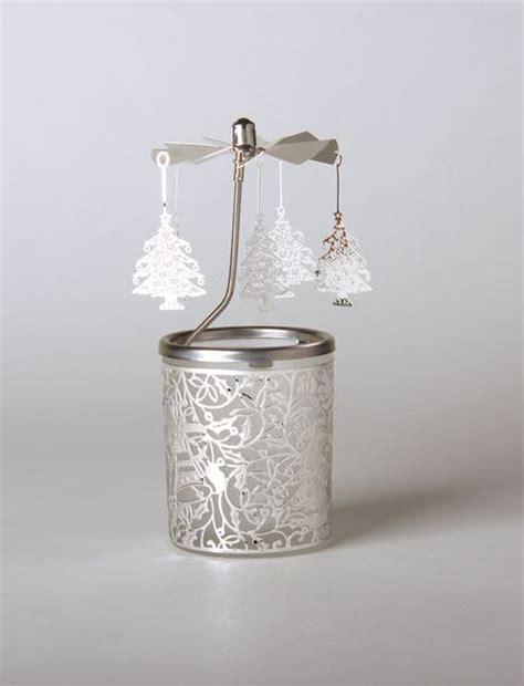 windlicht glas teelicht glas karussell windlicht weihnachstbaum teelicht