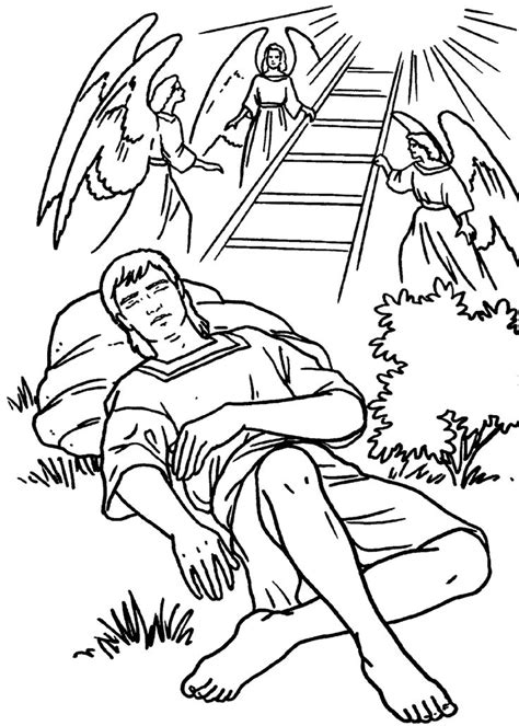 sunday school coloring pages jacob and esau 17 best images about bible story jacob and esau on